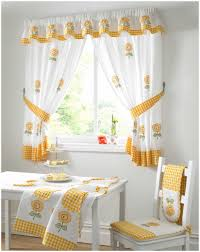 Bestyellow by Kitchen W Shaped Tie Up Curtain Best Yellow Kitchen Curtains