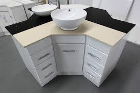 Corner Bathroom Vanity Cabinets Space Saver Corner Bathroom Vanity Inspiration Home Designs