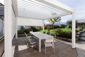Coupe Vent Terrasse Retractable by Pergola Bioclimatique Hardtop Plus Monsieur Store