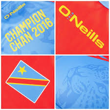 Dr Congo Flag Dr Congo 2016 Chan Champions O U0027neills Kit U2013 Football Fashion Org