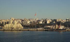 Spainish Flag Ceuta Port Spanish Flag 2 The Lady Travels