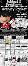 Worksheets On Subjects And Predicates 358 Best Writing Sentences Images On Pinterest Writing Sentences