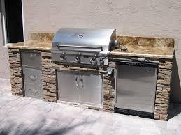 backyard grills simple concept stone elegant design layer kitchen