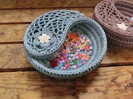 Crochet For Home Decor by Yin Yang Jewelry Dish Crochet Pattern 6