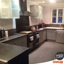 plan de travail cuisine effet beton plan de travail cuisine effet beton 5 cuisine 233quip233e grise