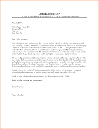 internship cover letter custom essay