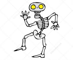 Skeleton For Halloween by Halloween Vector Pack For Designers Buy Vectors Royalty Free