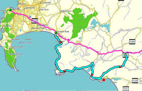 j bay south africa map self drive 1 route from cape town to pe via garden route south