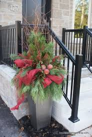 Christmas Decorations For Outdoor Urns by 46 Best Light Up Christmas Images On Pinterest Outdoor Lighting