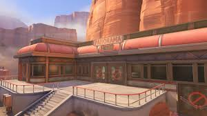 Map Route 66 by Overwatch Map Lore Route 66 Album On Imgur