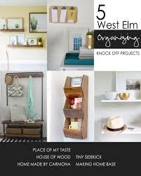 west elm acrylic shelf knock off home made by carmona