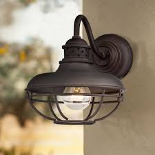 Lantern Style Outdoor Lighting by Franklin Park Metal Cage 9