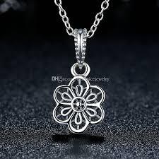 pandora style bracelet diy images 2018 romantic floral daisy lace pattern dangle charms for pandora jpg