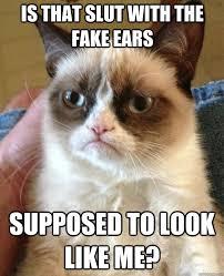 Meme Slut - is that slut with the fake cat meme cat planet cat planet