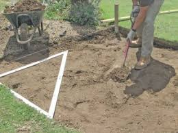 Laying Patio Slabs On Grass How To Lay Paving Slabs On A Driveway Or Patio