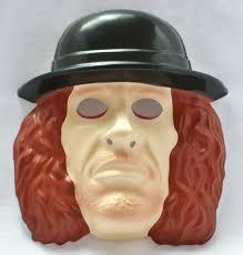 wwf the undertaker vintage halloween mask 1993 wwe wrestling wcw