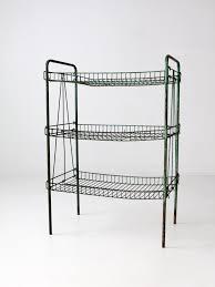 Industrial Wire Shelving by Vintage Industrial Metal Wire Shelf U2013 86 Vintage