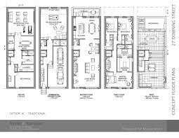 Brooklyn Brownstone Floor Plans 27 Downing Street 1 3 Greenwich Village 5 Bedroom Townhouse For