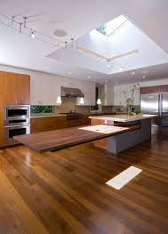 modern luxury kitchen cantilevered tables floating in modern luxury homes