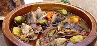 cuisiner la biche biche royale en foufou erierê tôlô recette cuisine abidjan