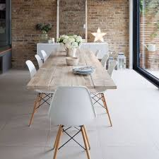Metal Leg Dining Chairs Best 25 White Dining Chairs Ideas On Pinterest Natural Wood