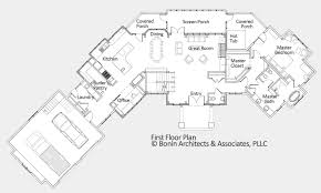 Berm House Floor Plans by Custom Home Blueprints