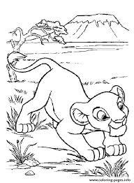 disney cartoon kids lion king28e5 coloring pages printable