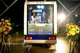 mobile photo booth untv radio and mobile radio booth launch daniel razon daniel razon