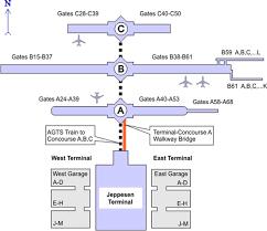 denver terminal b map denver international airport data photos plans wikiarquitectura