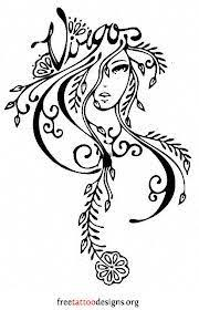 virgo tattoos 50 designs and ideas paleo pinterest virgos