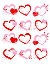 printable stickers valentines 68 best valentine s day labels templates and printables images on