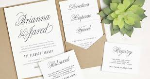 wedding invitation layout sle