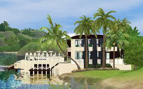 mod the sims serenity a calming beach house retreat