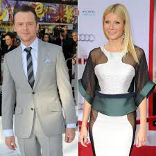 chris martin and gwyneth paltrow wedding british actor simon pegg is the godfather to gwyneth paltrow and
