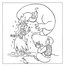 disneyland princess jasmine coloring pages kids characters