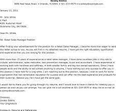 cover letter for sales manager position cover letter example for