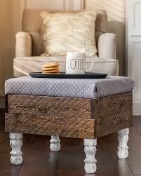 Diy Storage Ottoman This Beautiful Diy Storage Ottoman Will Make You Want To Build One