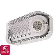 Emergency Lighting Fixture Lfi Lights Ul Certified Hardwired Outdoor Led Emergency