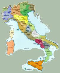 provinces of italy map provinces map