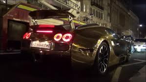bugatti gold and black chrome gold bugatti veyron 0 60 mph in central london youtube