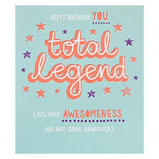 online birthday card buy paperlink total legend birthday card online at johnlewis