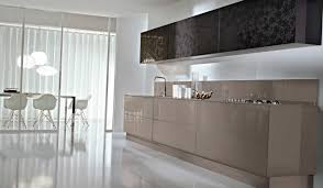contemporary kitchen glass lacquered system collection pedini