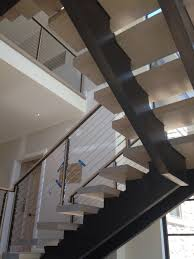 Stairs With Open Risers by Contemporary Staircase U2014 Capozzoli Stairworks