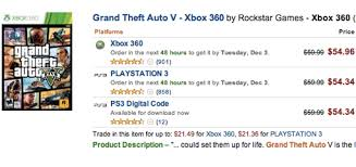 amazon black friday v deals grand theft auto v deals take a little off the top for black