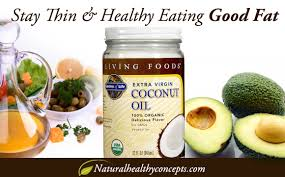 eating healthy fat can keep you thin healthy concepts with a