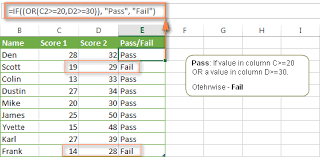 excel if function with multiple and or conditions nested if