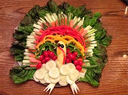 5 creative vegetable and fruit turkey platters ecorazzi