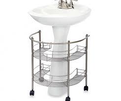 Pedestal Sink Sizes Pedestal Sink Cabinet Barrel Inspired Pedestal Sink Medium Size