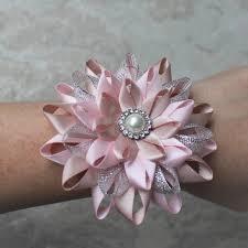 bridesmaid corsage pink wrist corsage blush pink wrist flower wedding wrist corsage