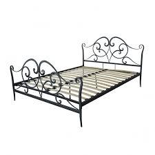 gold sparrow florence metal panel bed amp reviews wayfair florence